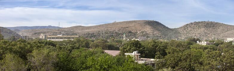 Obraz Panorama of Dire Dawa, Ethiopia - fototapety do salonu
