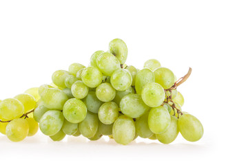 berry white wine isolated on white background