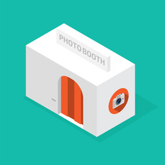 photo booth isometric