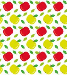 Apples seamless texture illustration
