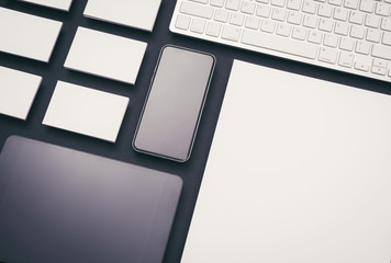 Modern responsive design background