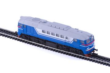 The Diesel locomotive.