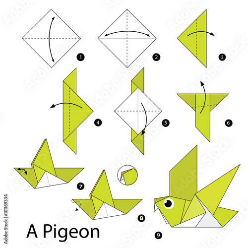 quotstep by step instructions how to make origami a bird