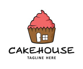 cake house bakery logo
