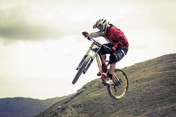 Fototapete - Extreme biker