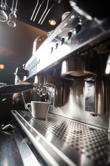 Espresso making machine