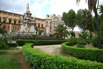 Palazzo Reale in Palermo, Sizilien, Italien