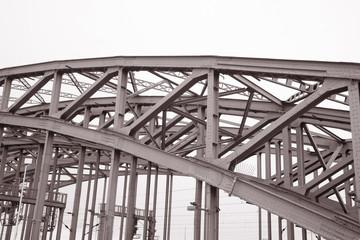 Hohenzollernbrucke Railway Bridge, Cologne