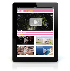 tablet pc video streaming
