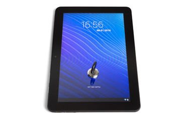 locked tablet PC