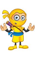 Yellow Ninja Character