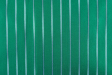 Grüne Gestreifte Stofftextur