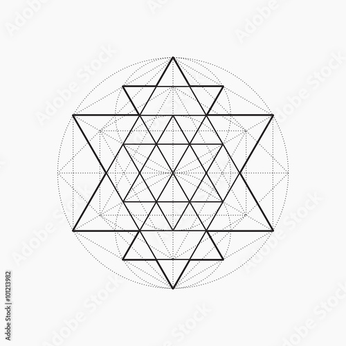geometric shapes line design triangle sacred geometry abstract