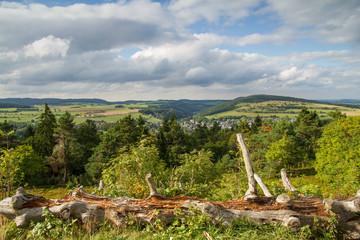 Sauerland Höhenflug in der Usseler Hochheide bei Willingen