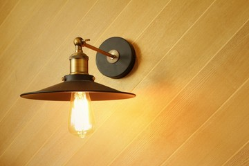 A bulbs that shines in the studio.