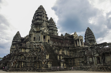 Angkor Wat - Khmer temple in Siem Reap province, Cambodia, South