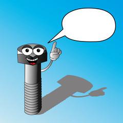 Talking bolt