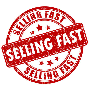 Selling fast business stamp