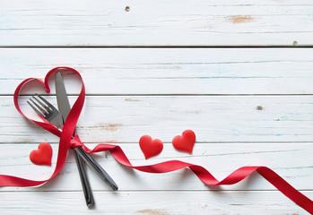 Valentines menu