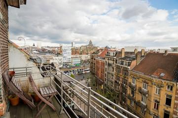 vistas de la ciudad de bruselas