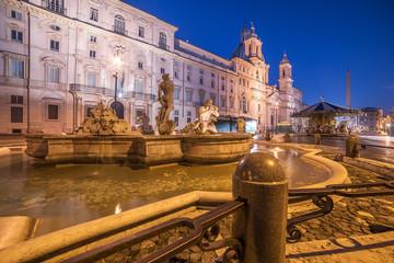 Wall Mural - Rome, Italy: Piazza Navona
