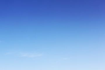 Blank space of sky