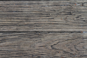 destroyed wood plank