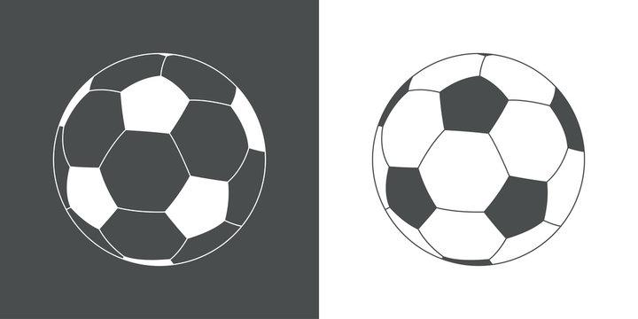 Icono plano balon futbol #1