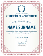 vertical certificate template,diploma,Letter size ,vector