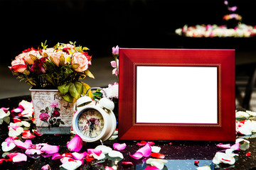 Pretty wedding picture frame