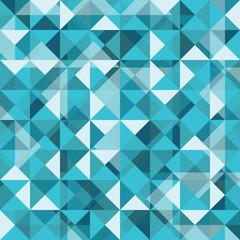 Seamless Diamond Pattern of geometric shapes