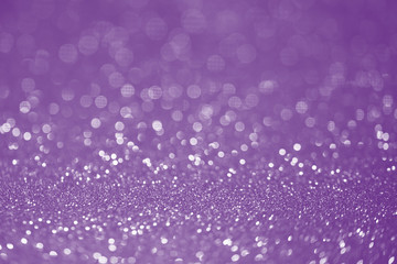 Purple glitter surface with purple light bokeh - It can be used for background for special occasions promotion campaign or product display
