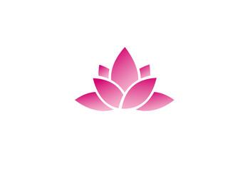 beauty lotus flower logo