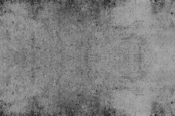 Wall texture used as background. black and white for design