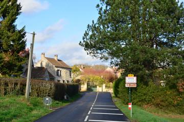 France, the picturesque village of Wy dit joli village