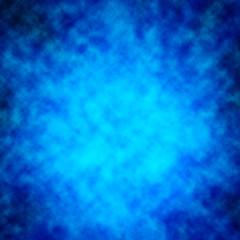 Smoke over blue background