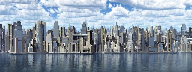 Großstadt am Meer