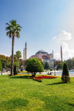 Sultanahmet Park a popular tourists area