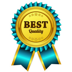 Best Quality Blue Seal Vector Icon