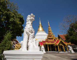 Wat Phra Kaew Don Tao at Lampang