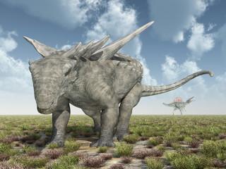 Dinosaurier Sauropelta