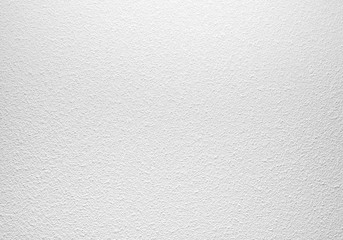 Empty white concrete wall with plaster pattern