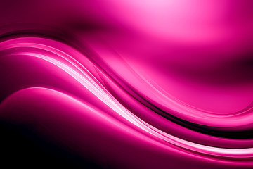 Decorative Design Abstract Pink Wave Background