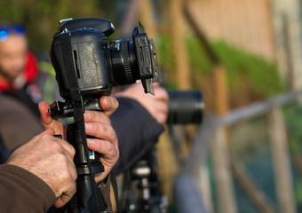 Preparare la macchina fotografica