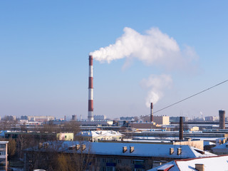 The Factory chimneys.