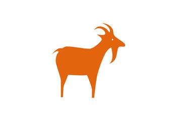 Goat Logo Vector Illustration