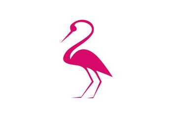 Stork Logo Vector