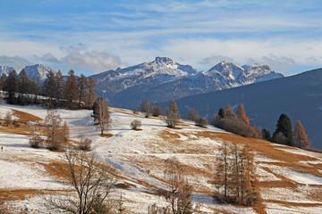 Castel della Aie e cima Litegosa; Lagorai, Val di Fiemme