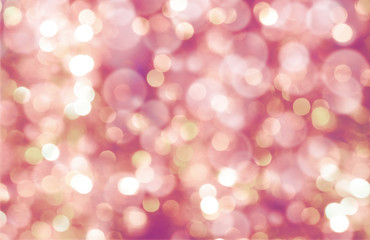 colorful abstract bokeh background, pink color