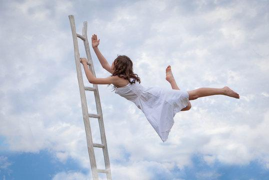 concept for effort, determination, escape